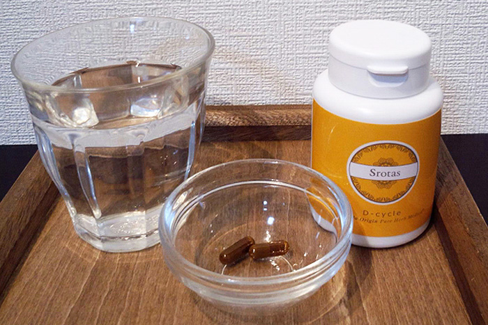 水分補給と解毒サプリメント
